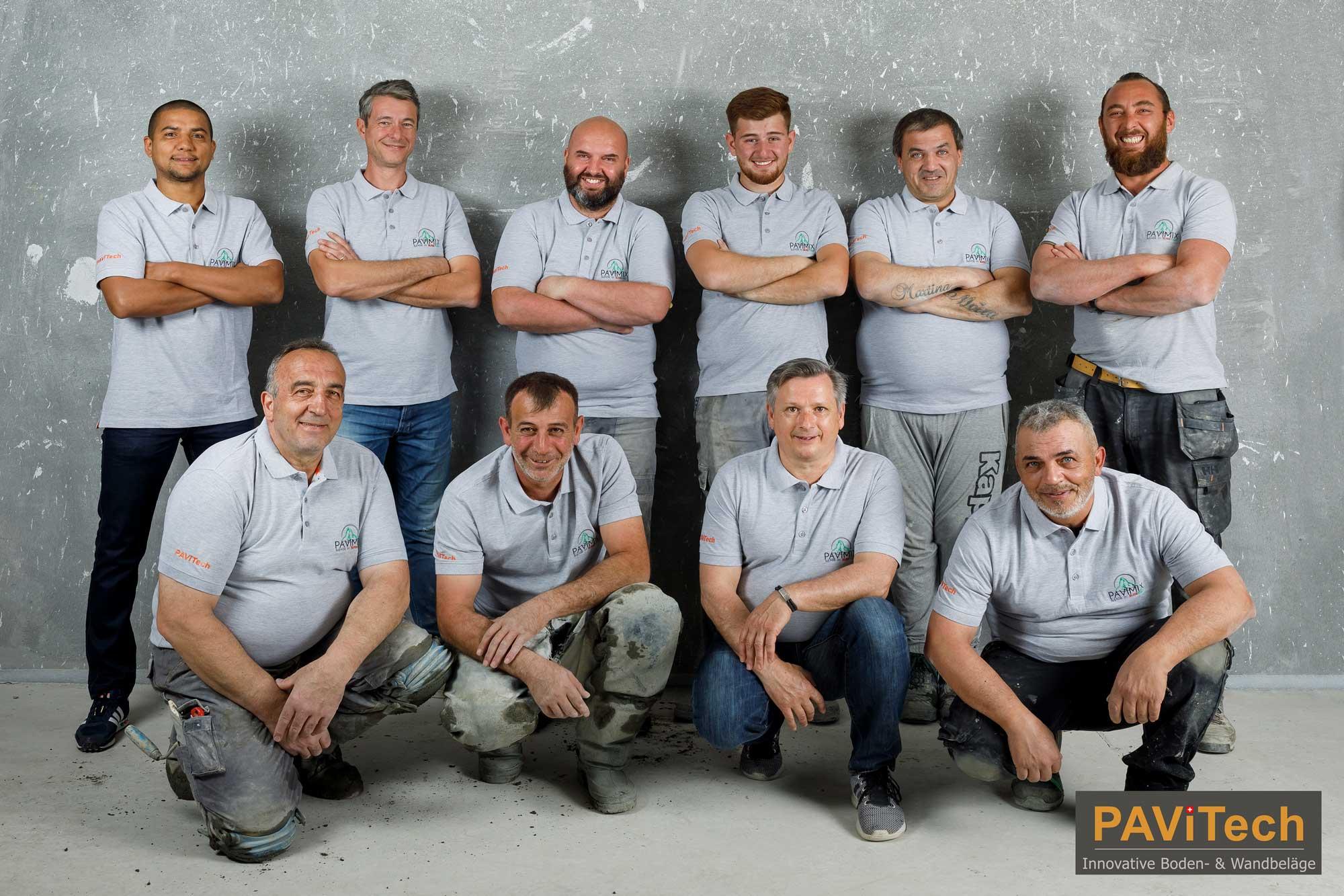 Teambild PAVITech 2020